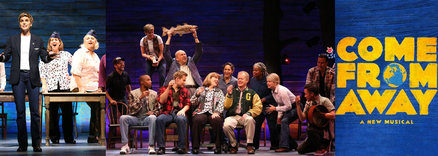 Come from Away gerald schoenfeld theatre